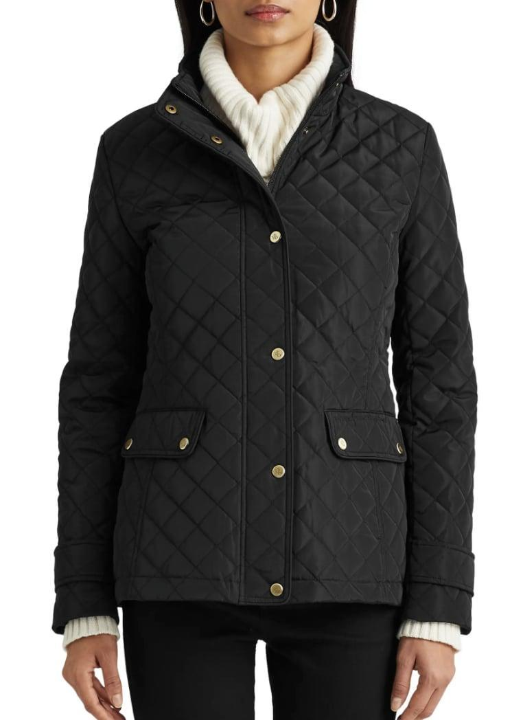 <p>Your outerwear game just got a lot more polished in this <span>Lauren Ralph Lauren Diamond Quilted Jacket</span> ($100, originally $160).</p>