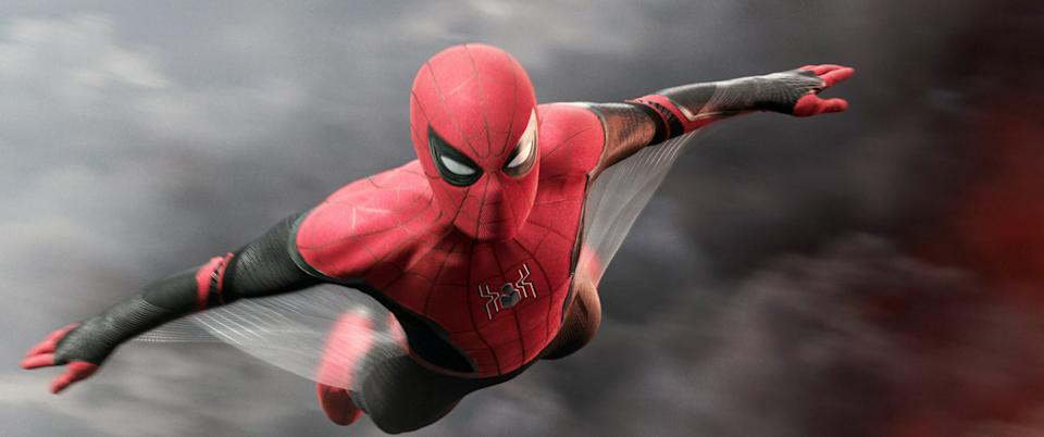 Spider-Man soars into action in 'Spider-Man: Far From Home' (Photo: Columbia Pictures / © Marvel / courtesy Everett Collection)