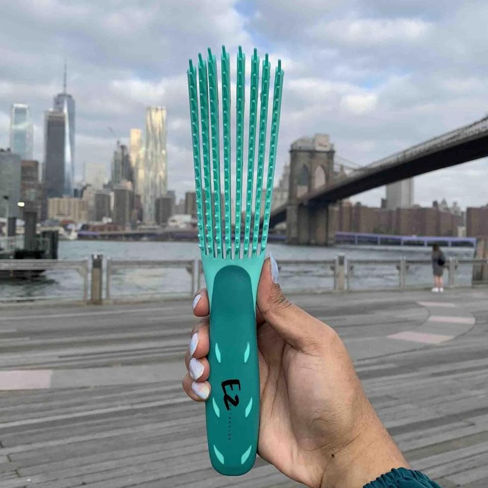 <p><span>The EZ Detangler Brush</span> ($17, originally $29) is one of the most popular detangling brushes out there, and it's known for it's outstanding ability to glide through kinks and curls like magic.</p>