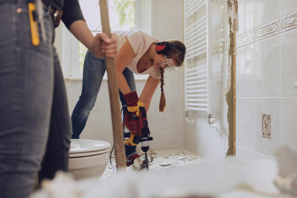 The best and worst places to renovate in the UK have been revealed. (Getty Images)