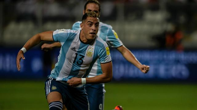 Ramiro Funes Mori could miss Everton's Premier League clash with Liverpool after he was withdrawn in Argentina's qualifier in Bolivia.