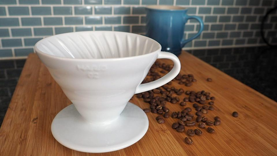 Best gifts for wives: Hario V60 Coffee Dripper 02 Ceramic