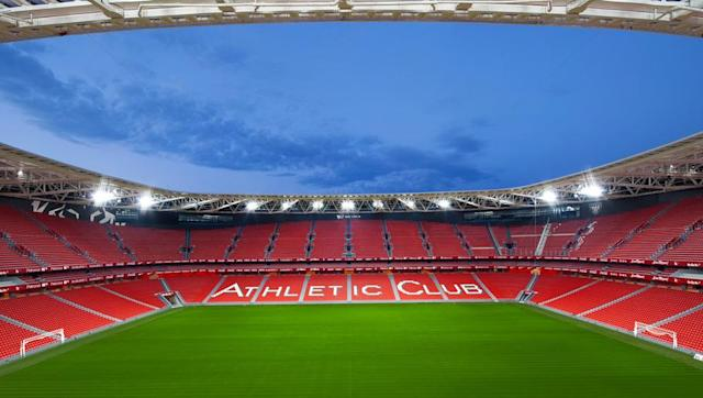 <p><strong>Stadium name: San Mames Stadium</strong></p> <p><strong>Year moved in: 2013</strong></p> <p><strong>Capacity: 53,289</strong></p> <br><p>Bilbao moved into their new home in September of 2013, conveniently located adjacent to their old stadium which was also named San Mames.</p> <br><p>The Spanish side were considerate of sentimentality however. In the construction of their new ground, a piece of turf and brick from the old site was carried over to the new site via a human chain consisting of Bilbao's most famous players, youth players, reserve players, members of the women's team and the club's youngest and oldest registered supporters. </p> <br><p>The club also preserved the iconic arch which loomed over the old site's main stand, relocating it to the training ground where it now resides besides the reserves pitch. </p>