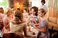 """""""The Help,"""" one of last year's most popular films, received a nod for best picture. Viola Davis is up for best actress and Octavia Spencer and Jessica Chastain were both nominated for best supporting actress."""