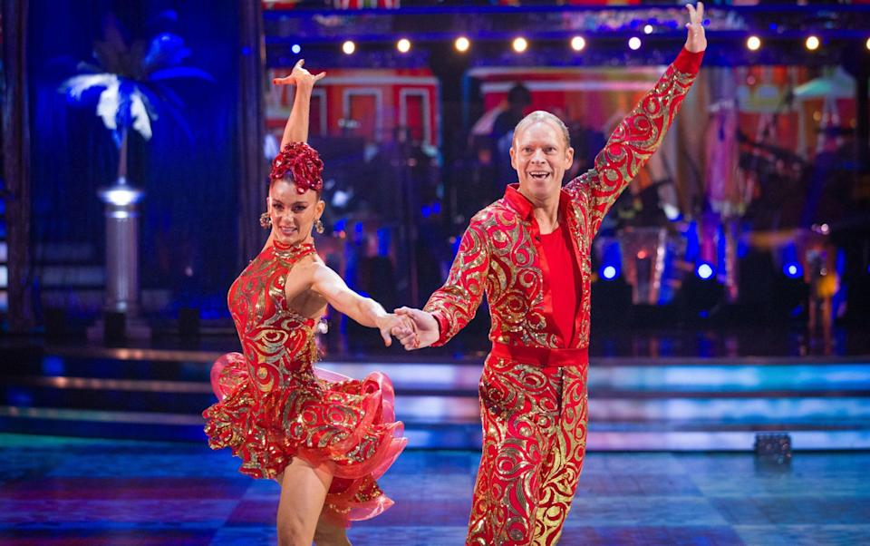 Robert Webb had been paired with professional dance partner Dianne Buswell - PA