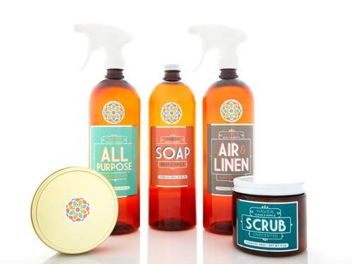 """<div class=""""caption-credit""""> Photo by: Courtesy of Haven Clean & Simple</div><div class=""""caption-title"""">Haven Clean & Simple</div>Inside Haven's beautiful vessels are hard-working formulas sans parabens, phthalates, dyes, and other nasty ingredients. And with just-add-water refills (12 ounces can replenish a 32-ounce bottle three times), you'll cut way down on plastic waste, too. Stock up on their site or at West Elm stores. <br> <br> <i>($4.50-$24.95 each, havenclean.com) <br></i> <br> <b>Plus: <br> <a href=""""http://www.countryliving.com/homes/how-to-clean-white?link=rel&dom=yah_life&src=syn&con=blog_countryliving&mag=clg"""" rel=""""nofollow noopener"""" target=""""_blank"""" data-ylk=""""slk:How to Clean Everything White »"""" class=""""link rapid-noclick-resp"""">How to Clean Everything White »</a> <br> <a href=""""http://www.countryliving.com/antiques/ways-to-declutter-antiques?link=rel&dom=yah_life&src=syn&con=blog_countryliving&mag=clg"""" rel=""""nofollow noopener"""" target=""""_blank"""" data-ylk=""""slk:7 Ways to Declutter Your Antiques Pile »"""" class=""""link rapid-noclick-resp"""">7 Ways to Declutter Your Antiques Pile »</a></b>"""