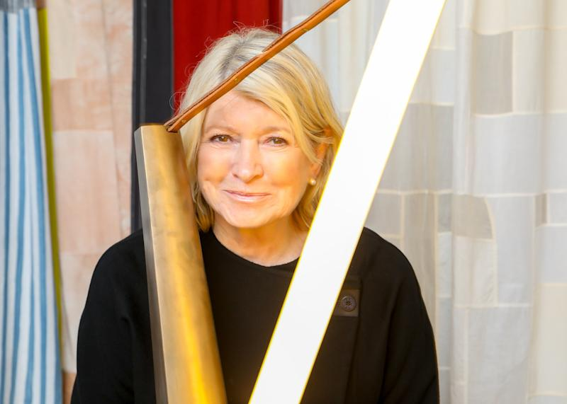 Martha Stewart attends an intimate cocktail party to celebrate the opening of Casa Perfect New York.