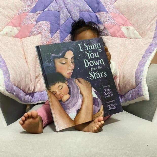 Tasha Spillett-Sumner's picture book features illustrations by the award-winning artist Michaela Goade. (Submitted by Tasha Spillett-Sumner - image credit)