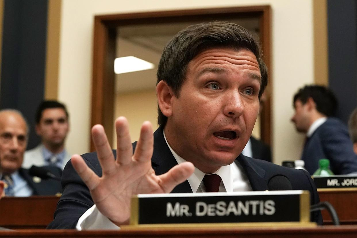 Rep. Ron DeSantis (R-Fla.) or whatever he is. (Photo: Alex Wong / Getty Images)