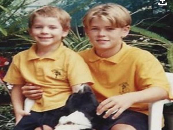 Throwback picture of Chris Hemsworth and Liam Hemsworth (Image Source: Instagram)