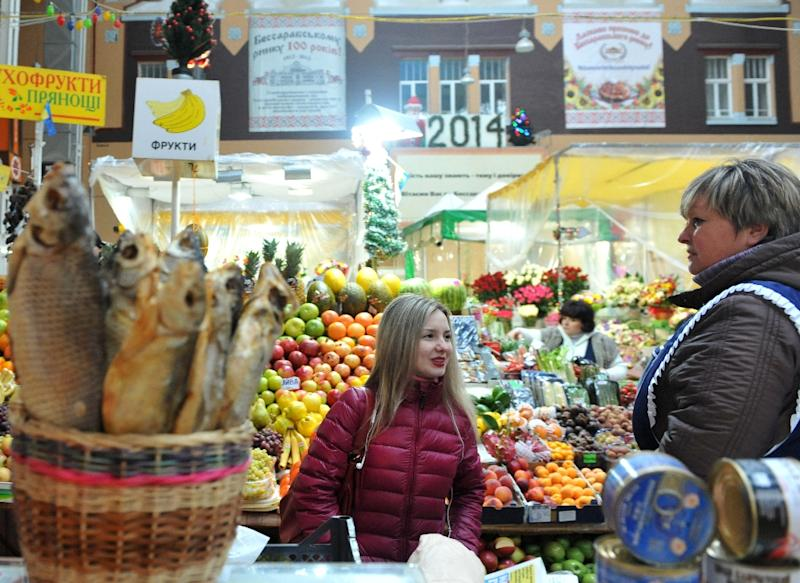 Ukraine's economy grew 4.7% in the fourth quarter from a year earlier
