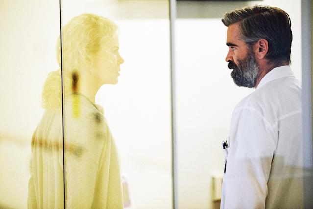 Nicole Kidman and Colin Farrell in <em>The Killing of a Sacred Deer</em>. (Photo: A24/courtesy Everett Collection)