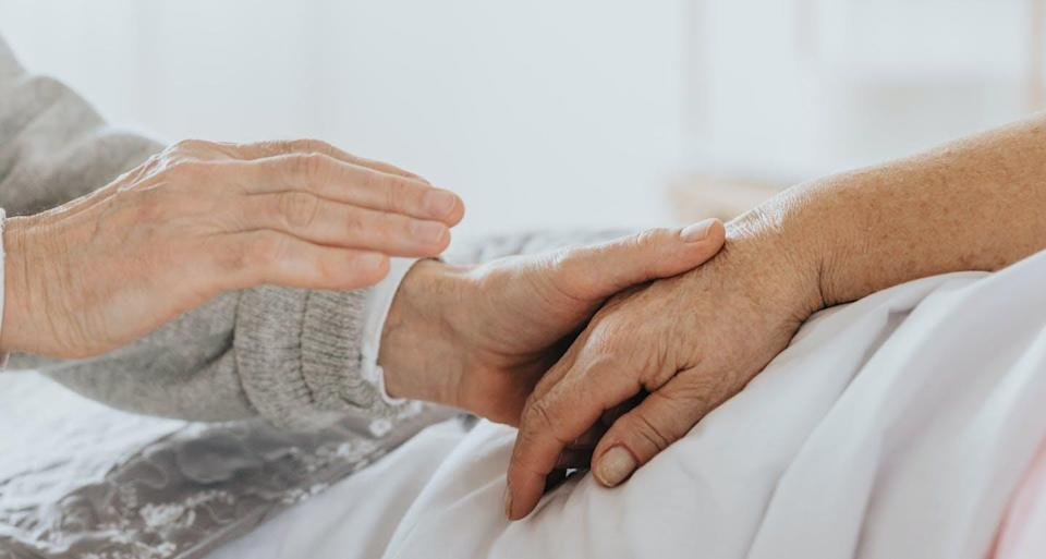 """<span class=""""caption"""">Originally, medical assistance in dying was intended for people who were terminally ill and whose death was foreseeable.</span> <span class=""""attribution""""><span class=""""source"""">(Shutterstock)</span></span>"""