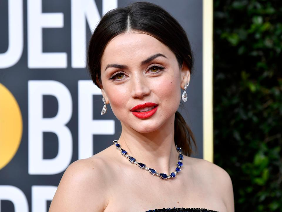 <p>Blonde star Ana de Armas says it took nine months of vocal coaching to capture Marilyn Monroe's voice</p> (Getty Images)