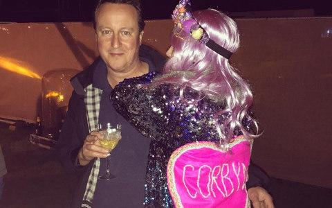 David Cameron at Wilderness Festival - Credit: @laeedwards / instagram