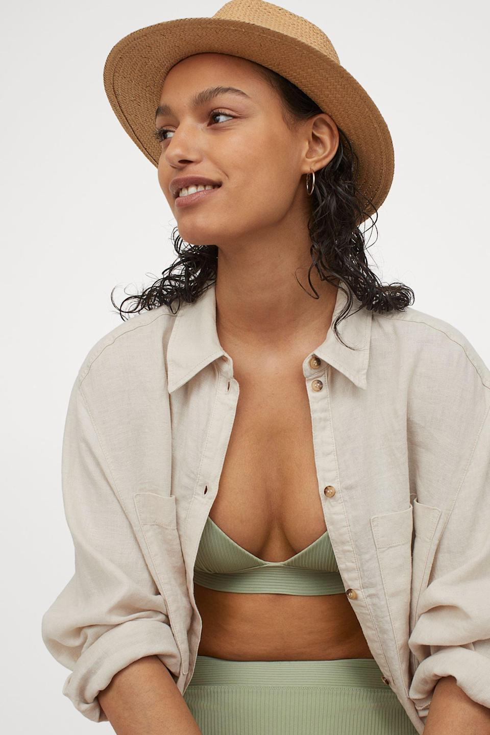 <p>This <span>Push-Up Bikini Top</span> ($20) will provide enough support with its padded cups, adjustable shoulder straps, and multiple fastening options. Don't forget to snag these <span>Bikini Bottoms</span> ($13) too.</p>