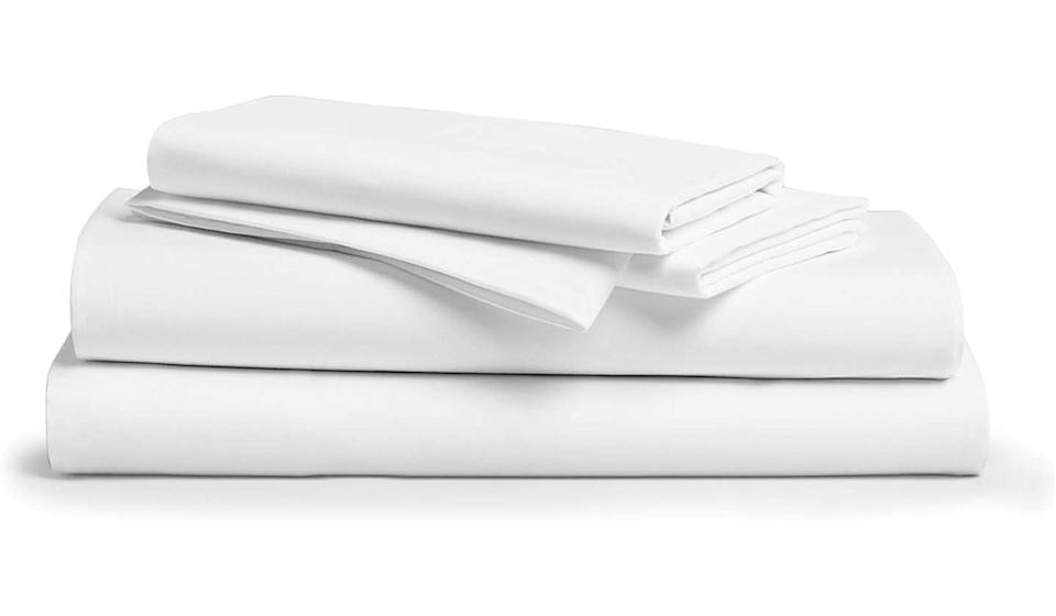 These wildly popular sheets have racked up over 8,300 perfect 5-star reviews (Photo: Amazon)
