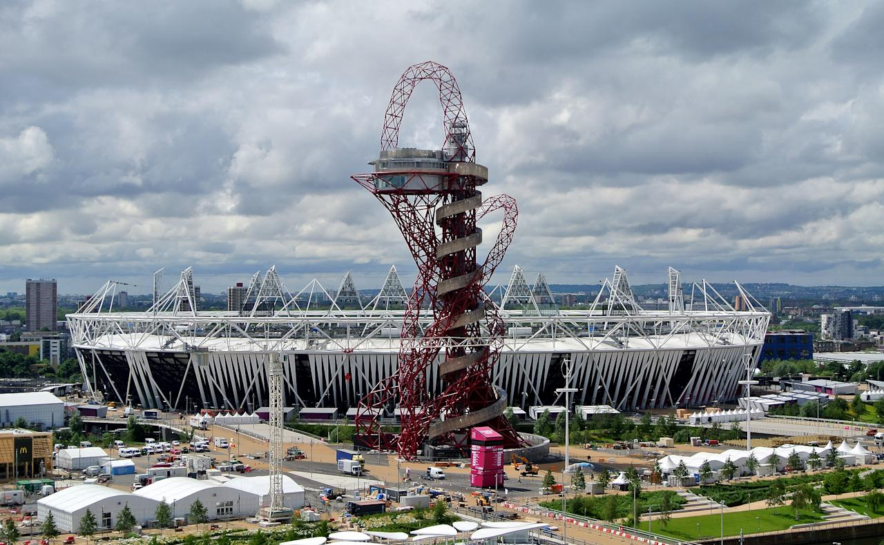 Olympic Stadium - General Views of London 2012 Venues