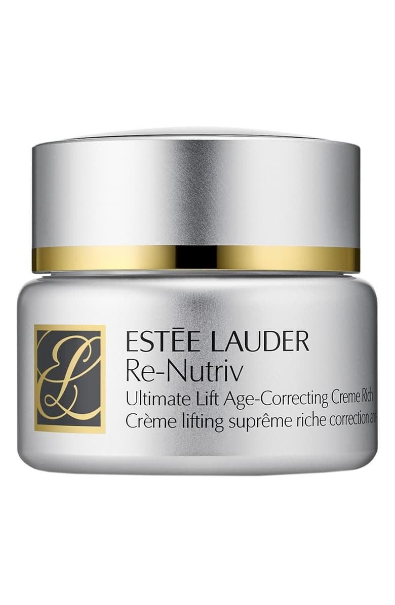 <p><span>Estée Lauder Re-Nutriv Ultimate Lift Age-Correcting Crème Rich</span> ($275, originally $310)</p>