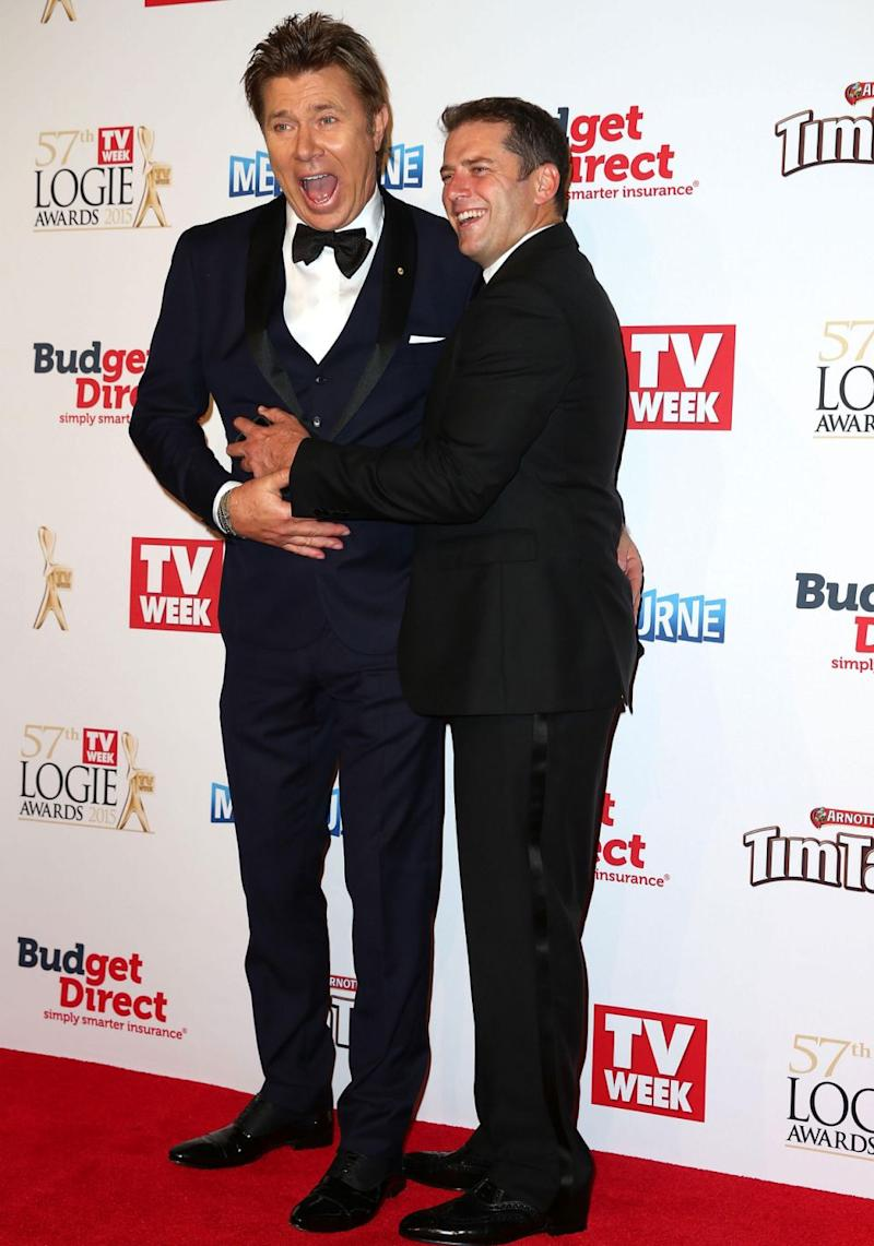 Karl is said to have complained about other Channel Nine colleagues, including long-time entertainment reporter Richard Wilkins who 'kept all the entertainment contacts close to his chest'. Source: Getty