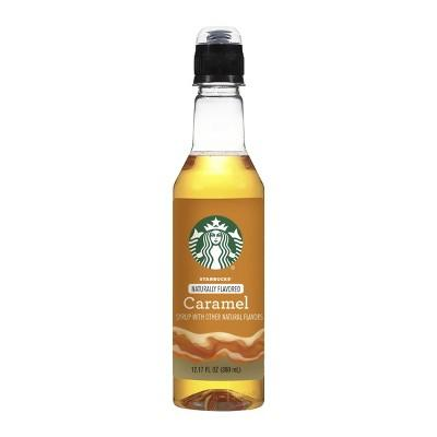"<p><strong>Caramel Syrup</strong></p><p>target.com</p><p><strong>$4.99</strong></p><p><a rel=""nofollow"" href=""https://www.target.com/p/starbucks-caramel-syrup-360ml/-/A-53446170"">Shop Now</a></p><p>Worth way more than a $6 latte. </p>"
