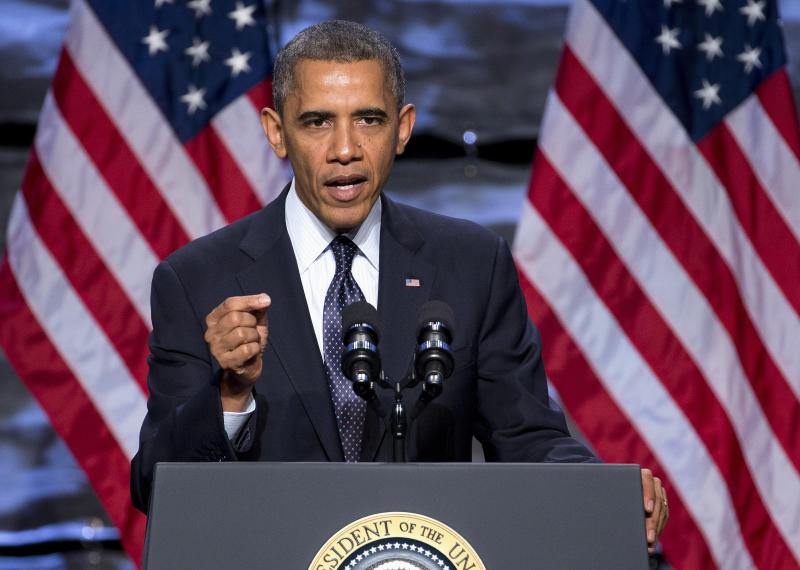 Obama pitches the US to foreign investors