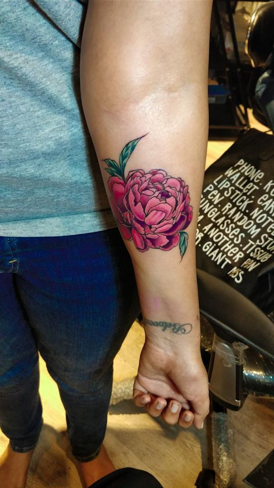 <p>It is a powerful recovery symbol of self harm and depression and implies rebirth and transformation. Since lotus grows in muddy water, people get it inked to represent their rising from struggles and hardships. </p>