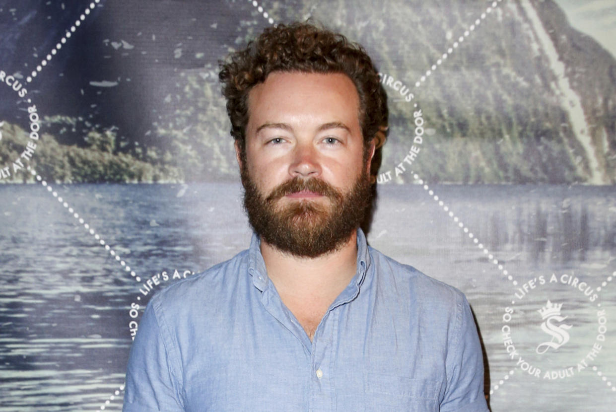 FILE - Danny Masterson arrives at The Unveiling of Seedling's Arts District Headquarters on May 28, 2015, in Los Angeles. Masterson's attorney Thomas Mesereau repeatedly challenged a woman on the witness stand during a hearing on Thursday, May 20, 2021, to determine whether Masterson should stand trial on three counts of rape. He has pleaded not guilty. (Photo by Rich Fury/Invision/AP, File)