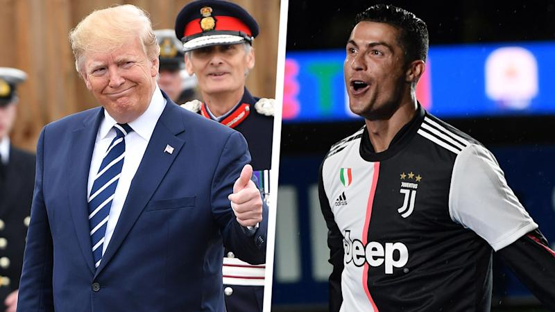 'Ronaldo draws hundreds of thousands of people!' - Trump weighs in on football's gender pay gap