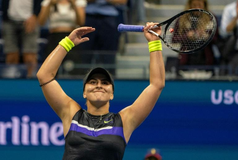 Bianca Andreescu is just the second Canadian woman to reach a Grand Slam final -- after Eugenie Bouchard at Wimbledon in 2014