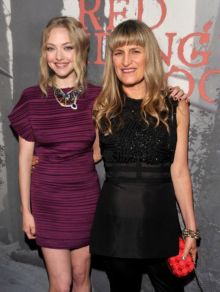 """<a href=""""http://movies.yahoo.com/movie/contributor/1808545150"""">Amanda Seyfried</a> and <a href=""""http://movies.yahoo.com/movie/contributor/1800196628"""">Catherine Hardwick</a> at the Los Angeles premiere of <a href=""""http://movies.yahoo.com/movie/1810157569/info"""">Red Riding Hood</a> on March 7, 2011."""