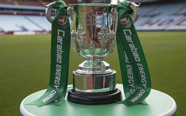Manchester United begin the defence of the Carabao Cup by hosting Burton in the third round. United, who beat Southampton in last season's League Cup final, will welcome Nigel Clough's Championship side to Old Trafford after the 40-minute draw was made in Beijing this morning. Jose Mourinho's side have only ever played the Brewers twice before, when the then non-league club earned a famous FA Cup replay after drawing 0-0 at Old Trafford, before United won 5-0 at the second attempt. League One Doncaster have been rewarded for beating Championship Hull with a trip to the Emirates to face Arsenal, while the other third-tier club Bristol Rovers visit Wolves. Carabao Cup third round draw 2014 winners Manchester City have been drawn away at West Brom, eight-time winners Liverpool visit Leicester, Chelsea will play Nottingham Forest at home and Everton host Sunderland. Tottenham will play the winner of Barnsley versus Derby, Burnley's record signing Chris Wood will have a quick reunion with his former club Leeds as the Yorkshire side head to Turf Moor and Huddersfield make a repeat journey to Crystal Palace, the scene of their opening-day win in the Premier League. Elsewhere West Ham taken on Bolton, Reading host Swansea, Stoke head to Bristol City and Brighton make the trip along the south coast to Bournemouth. The draw was made in China at 11.30am local time, to try and boost the EFL's exposure in Asia, though it was not televised after mishaps in the last two draws. Jose Mourinho hopes to reclaim the League Cup trophy The first-round draw, held in Thailand where the makers of energy drink Carabao are based, showed Charlton playing two teams in the on-screen graphic. Then former England winger John Salako, conducting the second-round draw, got confused about which teams were playing at home or away. Although starting late, there were no such embarrassments this time around, with each tie revealed on Twitter around two minutes apart on Twitter. Ties to be played week comm