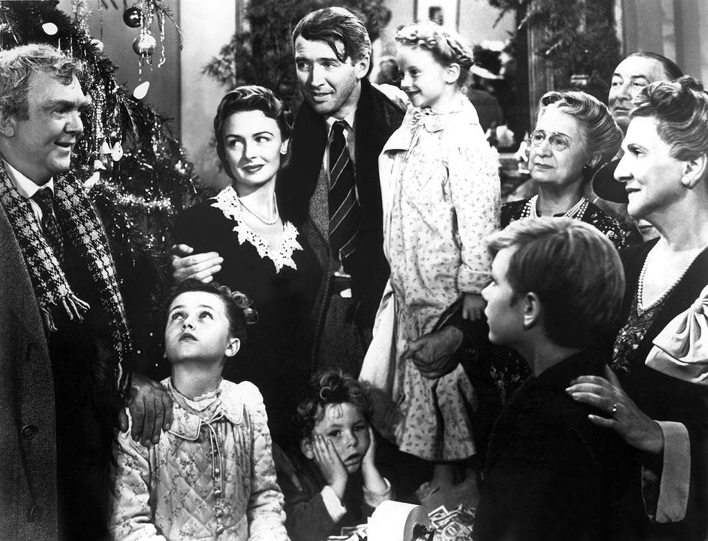 """It's a Wonderful Life"" (Frank Capra): The title is good for us. The screenplay is fantastic. We always think about the implication of one's existence on others. It has a good actor, a good screenplay, and it's always modern. It's contemporary. We could shoot this movie tomorrow, and it would be relevant."