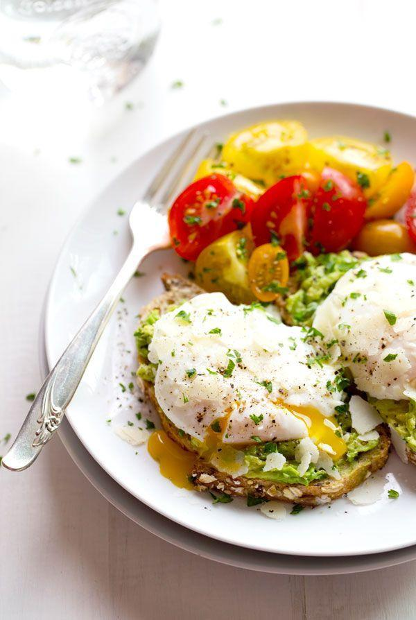 """<p>Poach a bunch of eggs for these colorful toasts, with a little help from your muffin tin. </p><p><a href=""""http://pinchofyum.com/simple-poached-egg-avocado-toast"""" rel=""""nofollow noopener"""" target=""""_blank"""" data-ylk=""""slk:Get the recipe from Pinch of Yum »"""" class=""""link rapid-noclick-resp""""><em>Get the recipe from Pinch of Yum »</em></a></p>"""