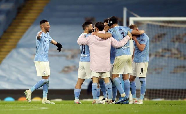 Manchester City defeated Paris St Germain to reach the final