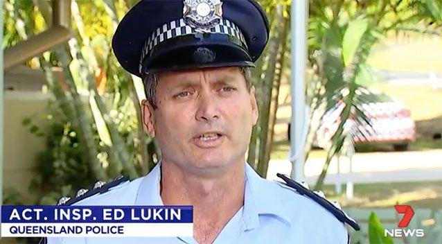 Ed Lukin said clothes, a walking stick, and what are believed to be human remains have been found. Source: 7 News