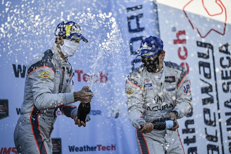 Team orders help Taylor and Castroneves to Laguna win