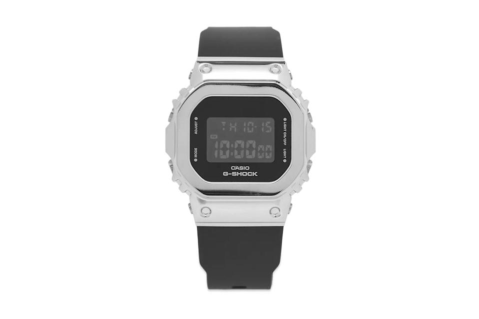 "$175, End Clothing. <a href=""https://www.endclothing.com/us/casio-g-shock-gm-5600-series-watch-gm-s5600-1er.html"" rel=""nofollow noopener"" target=""_blank"" data-ylk=""slk:Get it now!"" class=""link rapid-noclick-resp"">Get it now!</a>"