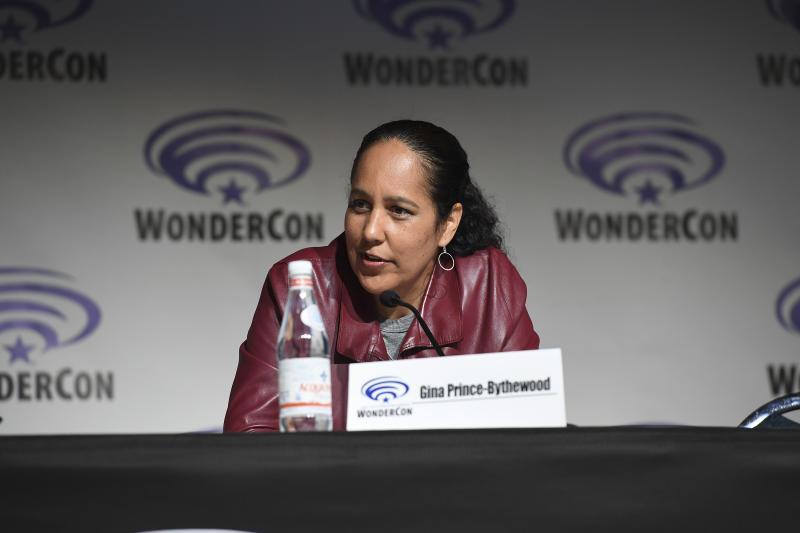 Gina Prince-Bythewood promotes Marvel series 'Cloak & Dagger' at WonderCon. (Credit: Aaron Poole via Getty Images)