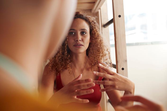 When you've been vulnerable with your white relatives and shared your experiences with racism and they still deny it exists, it's exhausting. (Photo: Klaus Vedfelt via Getty Images)