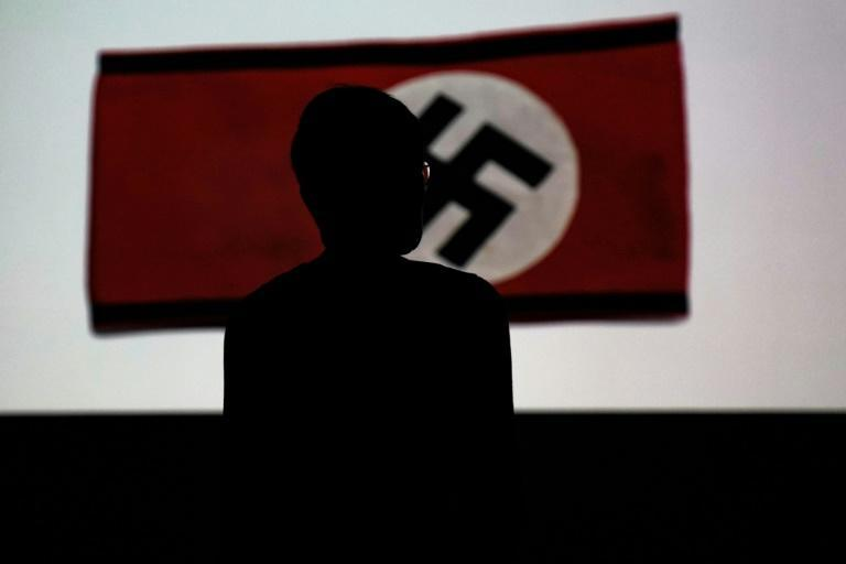 The museum said the design exhibition was intended to get people thinking about the different ways the Third Reich managed to take hold of people's minds (AFP Photo/Kenzo TRIBOUILLARD)