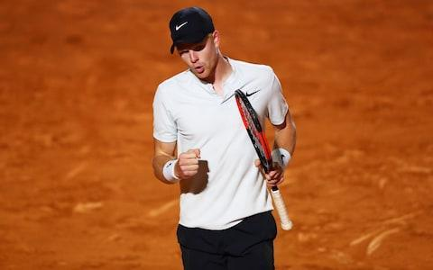 <span>Edmund only faced a single break point in his win over Pouille </span> <span>Credit: Getty Images </span>