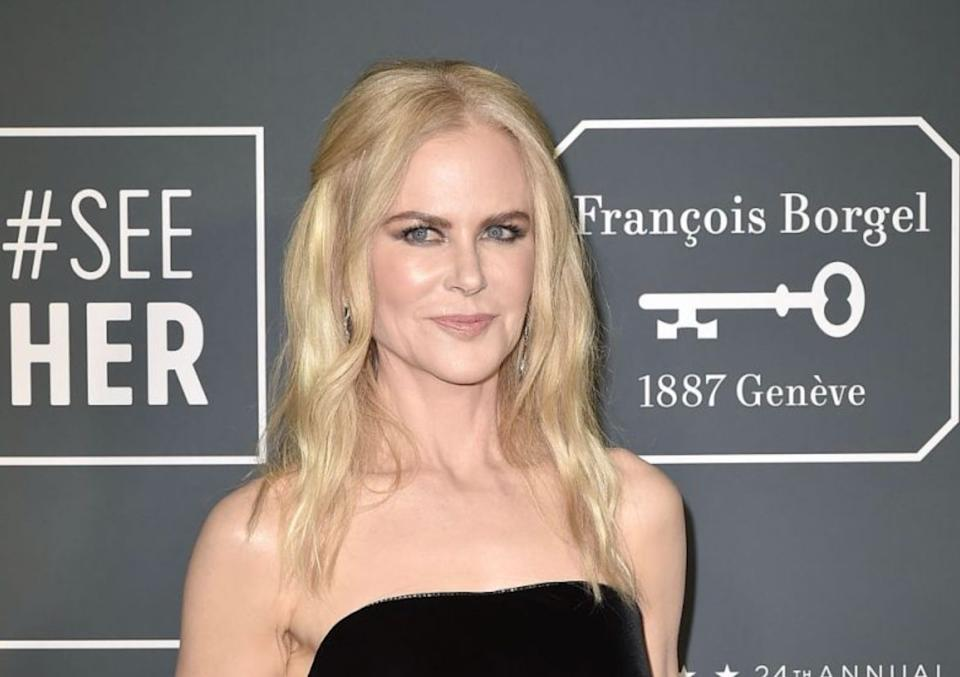 Nicole Kidman  (Photo: Yahoo Celebrity UK)