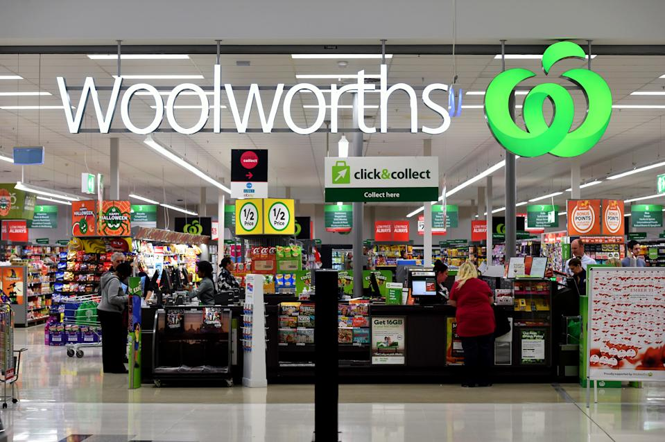 Picture of a Woolworths store front, the supermarket unveiled their new Ooshies collection in August, exciting customers and angering others.