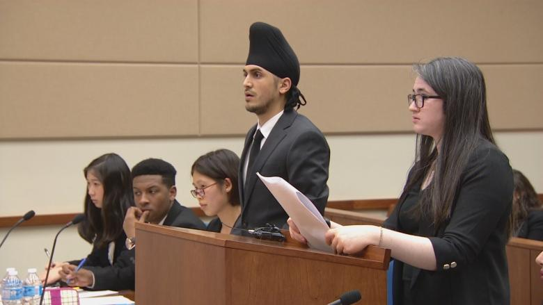 'It's almost like you're a real lawyer': Brampton students win Peel mock trial competition