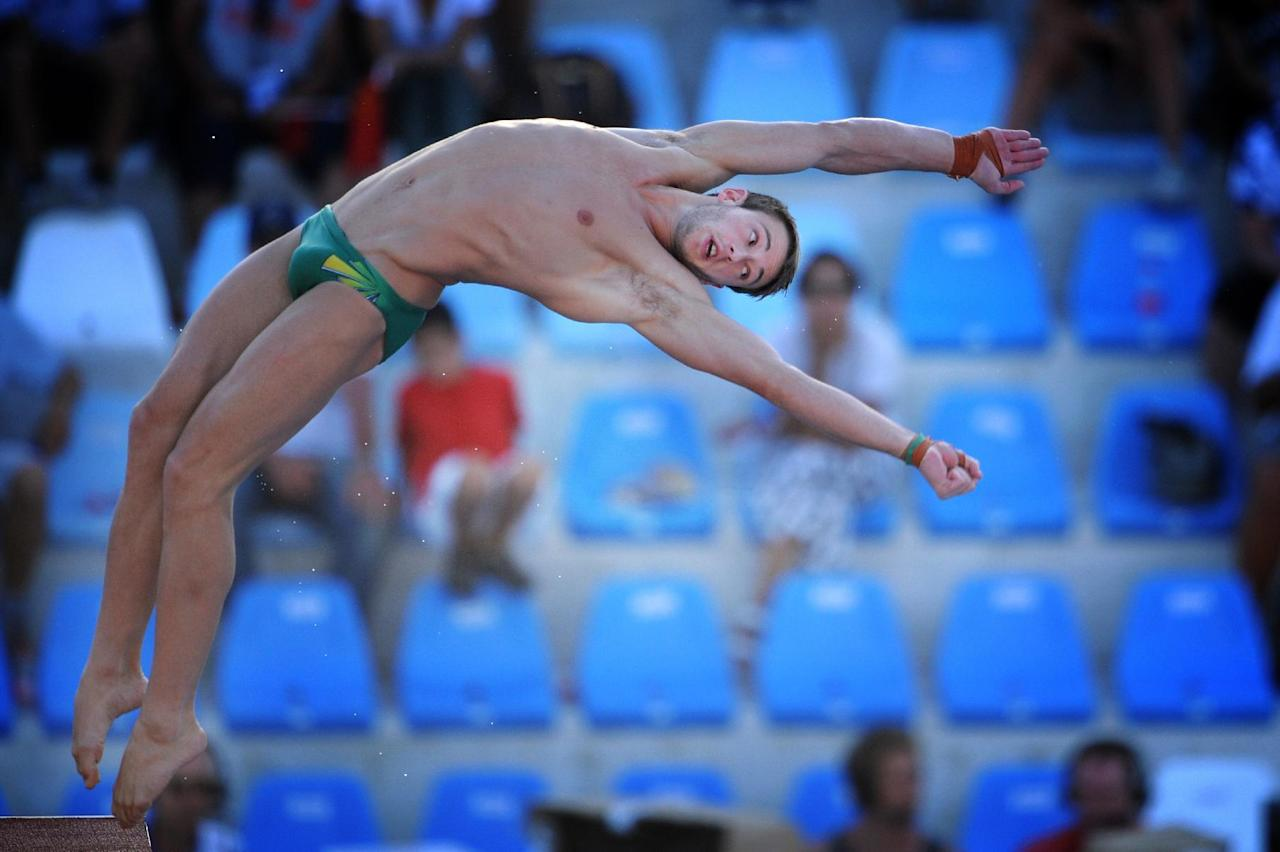 Diving - Australian Olympic gold diver Mitcham retires