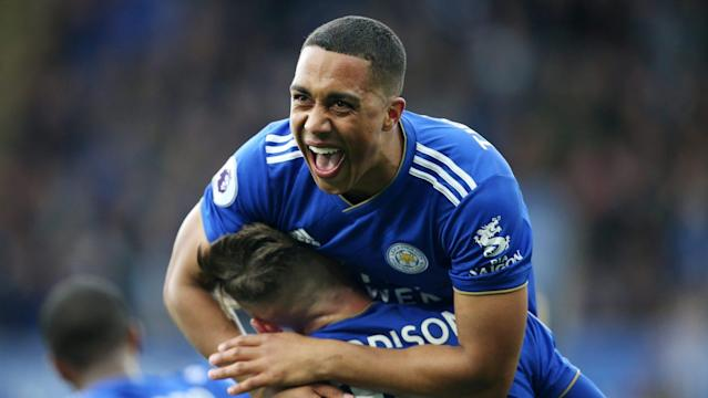Aston Villa and Burnley each signed a defender Monday, while Leicester City signed defender Youri Tielemans for a club-record fee.