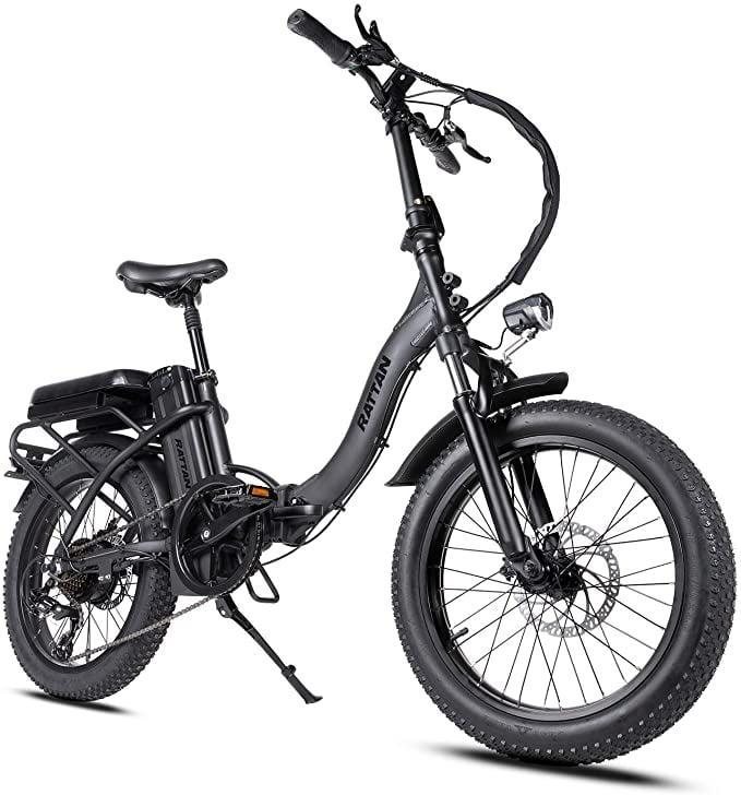<p>You'll definitely go fast on this cool <span>Rattan 48V 500W/750W Electric Bike</span> ($1,049).</p>