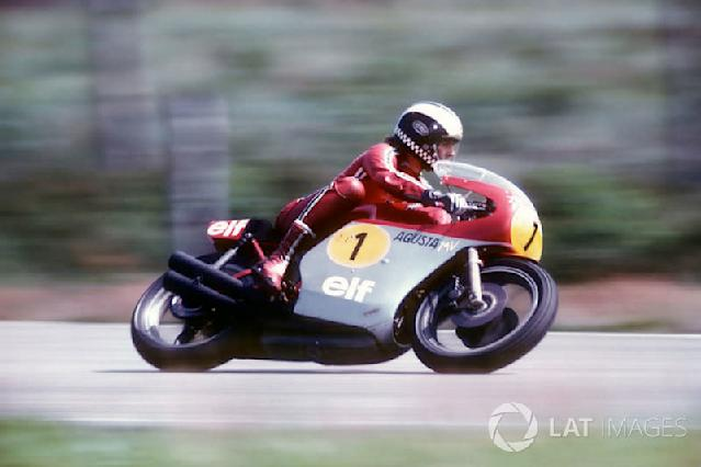 """1974 - Phil Read, MV Agusta <span class=""""copyright"""">Gold and Goose / Motorsport Images</span>"""