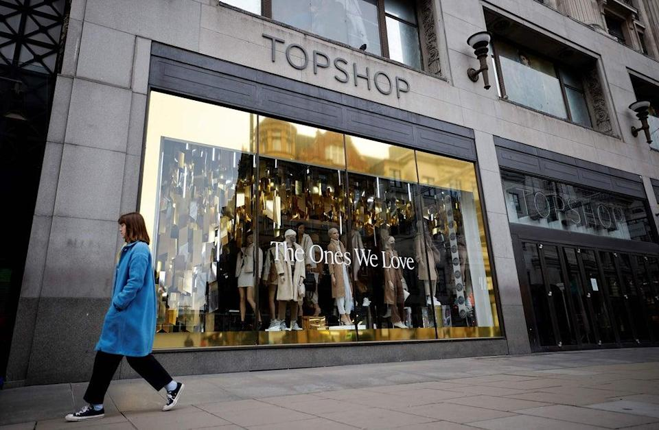 Topshop had a flagship shop on Oxford Street for a number of years  (AFP via Getty Images)